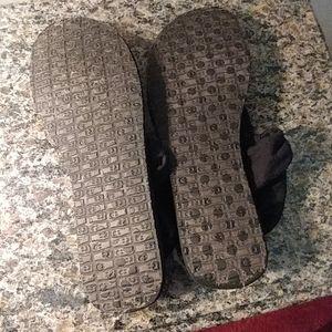 Sanuk Shoes - Sanuk Size 9 Sandles Black